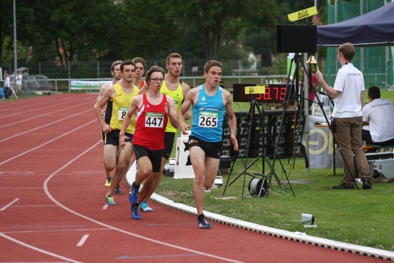 Bayerische Meisterschaften U16/U23 in Regensburg