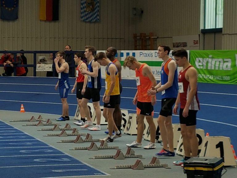 Bayerische Hallenmeisterschaften U20/U16 in Fürth
