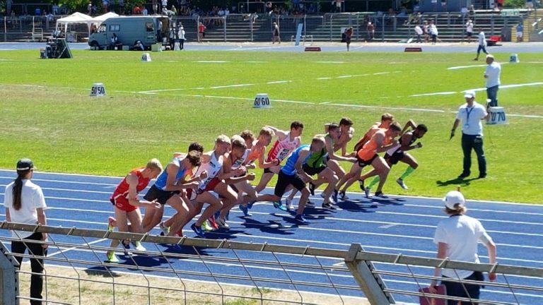Deutsche U23 Meisterschaften in Heilbronn – 800m Rennen in Ingolstadt
