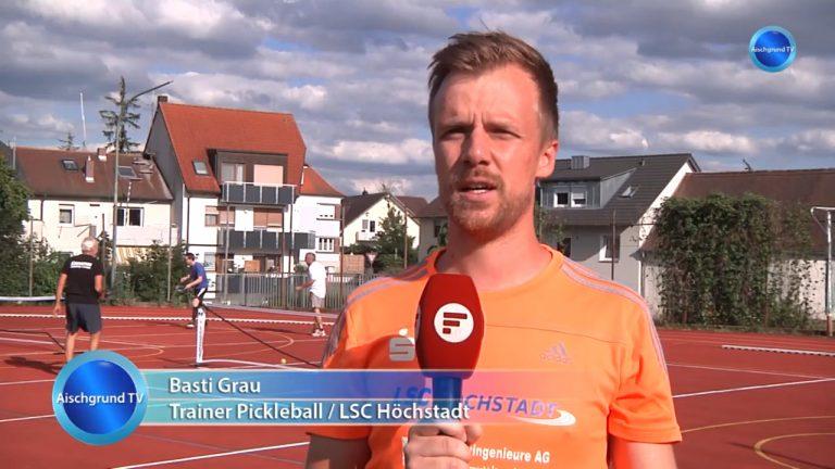 Pickleball bei Aischgrund TV