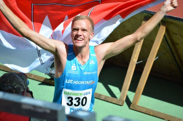 Heimspiel als Triumphzug: Martin Grau wird Deutscher Meister
