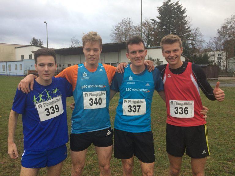 LSC Läufer werden im Team der Uni Erlangen-Nürnberg deutscher Cross-Vizemeister