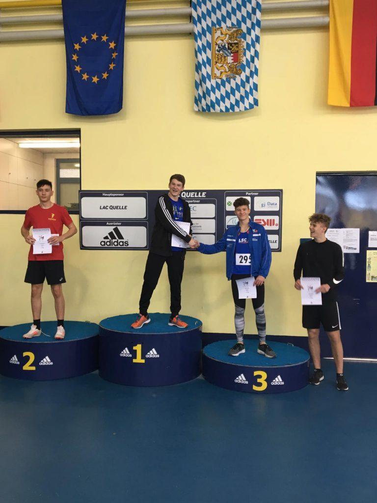 Nordbayerische Hallenmeisterschaften U20/U16 in Fürth