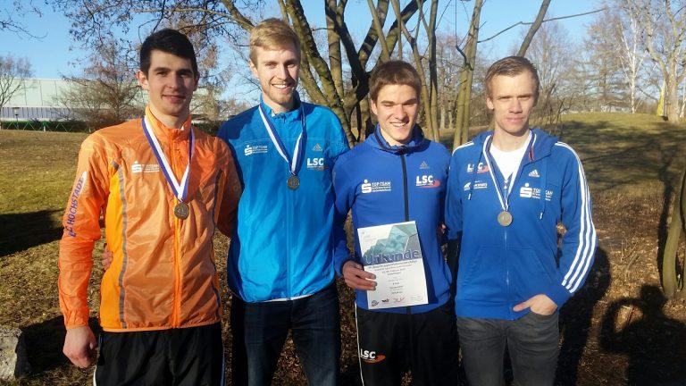 Deutsche U20 Hallenmeisterschaften mit Langstaffeln Aktive in Sindelfingen