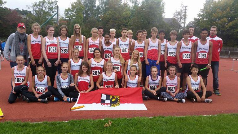 LSC Athleten in ganz Süddeutschland am Start