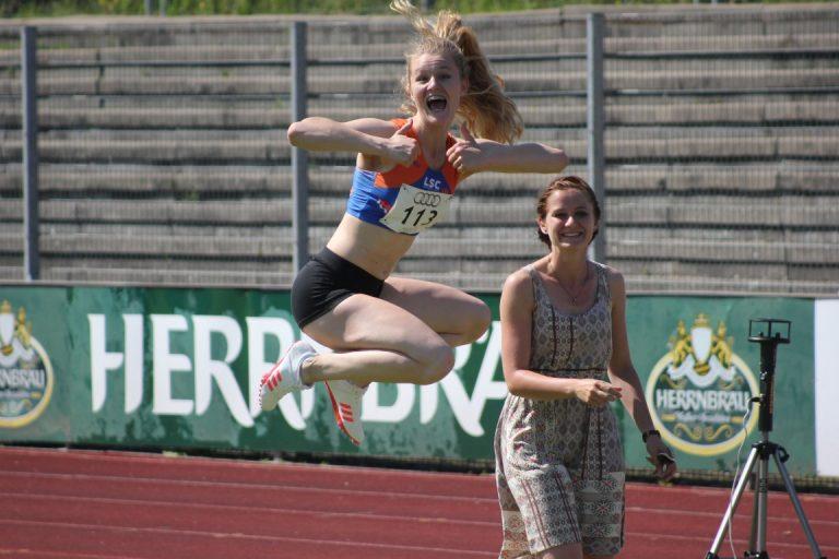 Leichtathletikmeeting in Ingolstadt